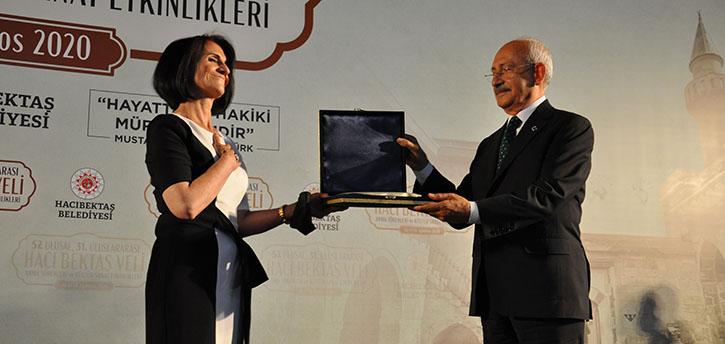 27. Hacı Bektaş Veli Dostluk ve Barış Ödülü Verildi.