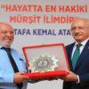 26. Dostluk ve Barış Ödülü Musa EROĞLU'NA Verildi.