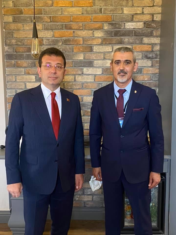 İstanbul Büyükşehir Belediye Başkanımız Sayın Ekrem İmamoğlu ile Görüşme
