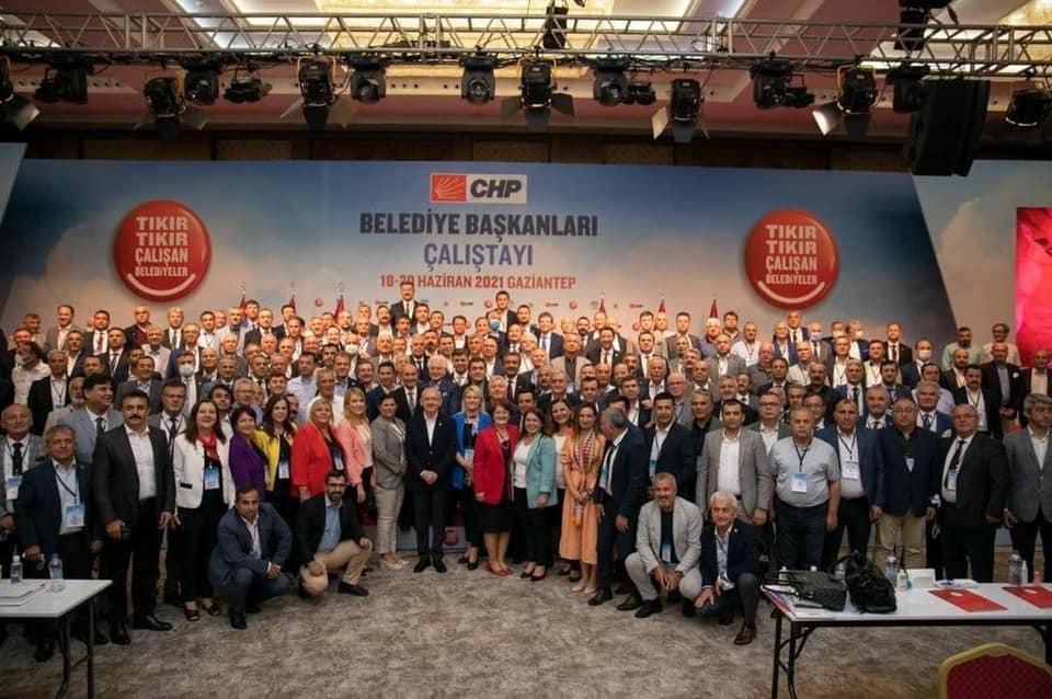 Gaziantep'te Yapılan CHP Belediye Başkanları Toplantısı