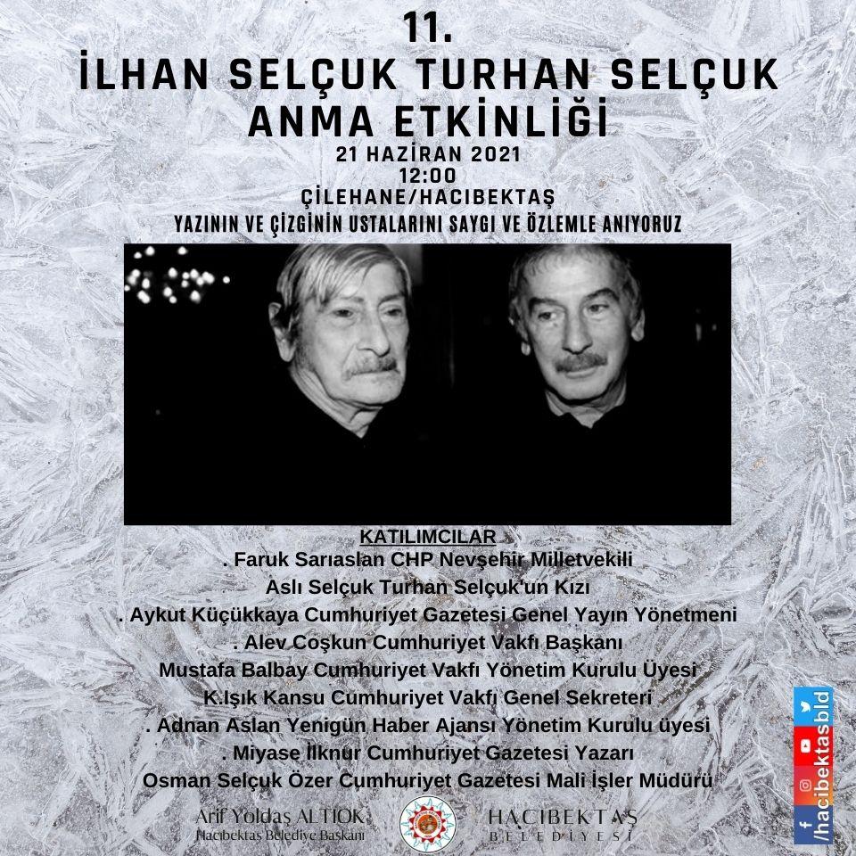 İlhan SELÇUK – Turhan SELÇUK Kardeşleri Anıyoruz